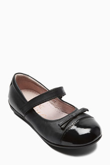 Next Patent Toe Cap Shoes (Older Girls)
