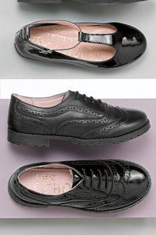 Next Cleat Brogues (Older Girls) - 166021