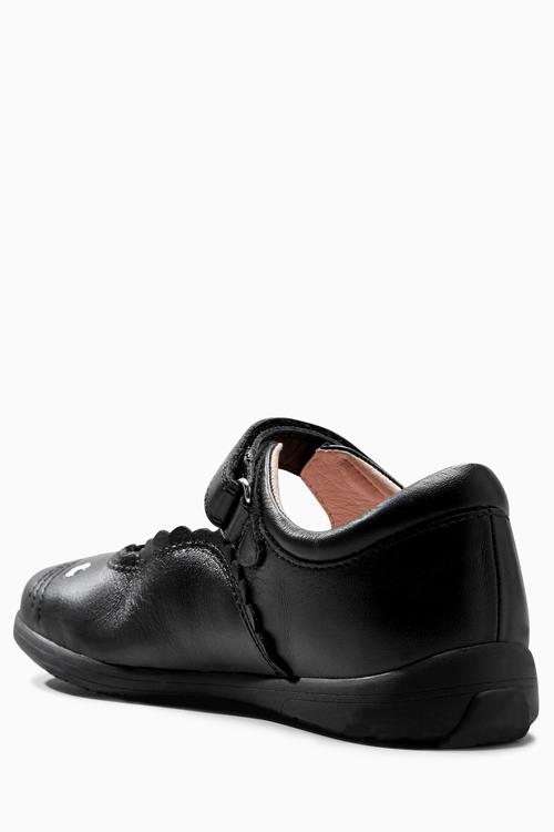Next Black Mary Jane Cat Shoes (Older Girls)