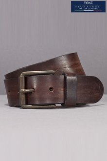 Next Brown Signature Italian Leather Belt - 166084
