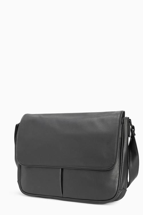 Next Black Twin Pocket Bag