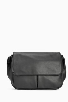 Next Black Twin Pocket Bag