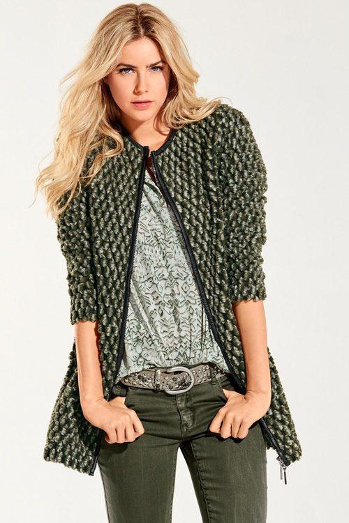 Heine Chunky Knit Coat