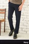 Next Navy Slim Fit Trousers