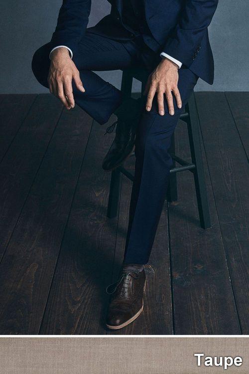 Next Italian Wool Suit: Trousers