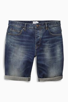Next Blue Premium Denim Shorts