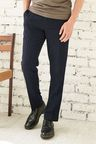 Next Navy Birdseye Slim Fit Trousers