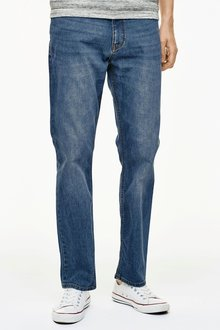 Next Bright Blue Jeans With Stretch