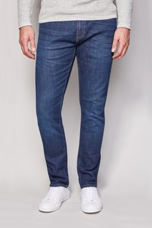 Next Mid Blue Jeans With Stretch