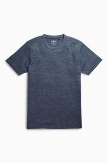Next Navy Marl T-Shirt