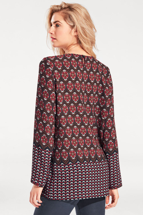 Heine Long Printed Blouse