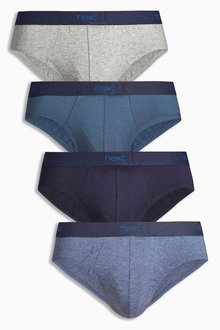 Next Blue Briefs Four Pack