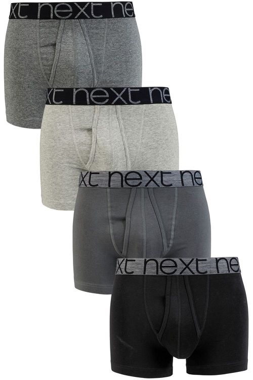 Next Grey A-Fronts Four Pack