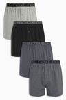 Next Grey Loose Fit Four Pack