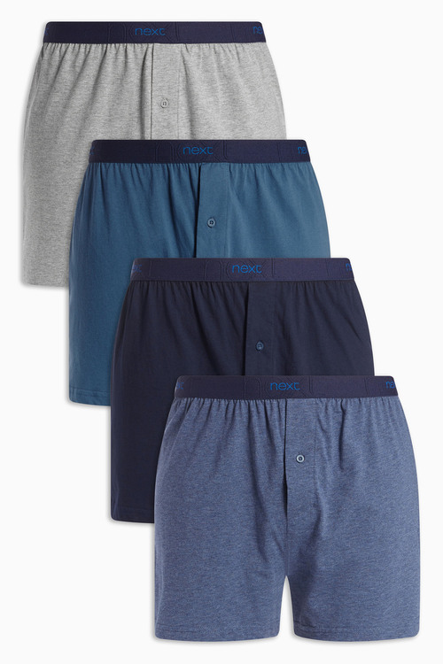 Next Blue Loose Fit Four Pack