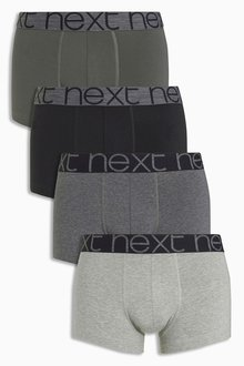 Next Grey Hipsters Four Pack - 166529