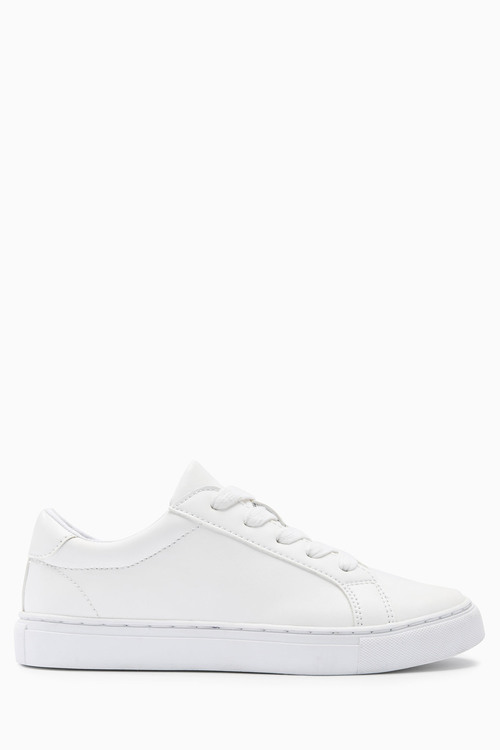 Next Clean Lace Up Sneakers (Older Boys)