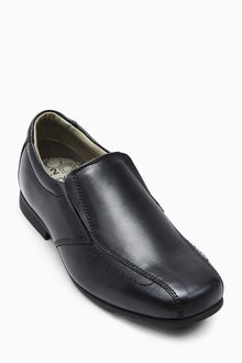 Next Black Formal Loafers (Older Boys)