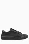 Next Black Clean Lace-Up Shoes (Older Boys)