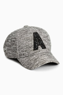 Next Charcoal Embellished Cap (Older Girls)