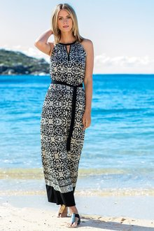 Capture Print Knit Maxi