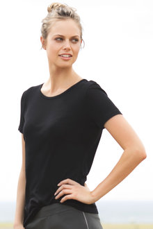 Isobar Thermal Scoop Neck Tee