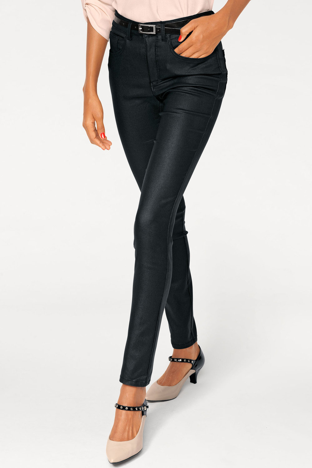 49cf5c1f5698c Heine Faux Leather Leggings Online | Shop EziBuy