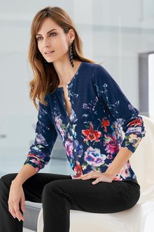 Together Print Cardigan