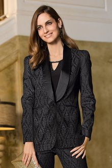 Together Jacquard Blazer