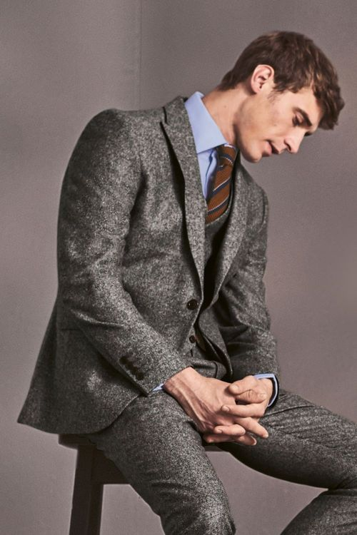 Next Donegal Tailored Fit Suit Jacket