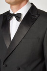 Next Double Breasted Tuxedo Slim Fit Suit: Jacket