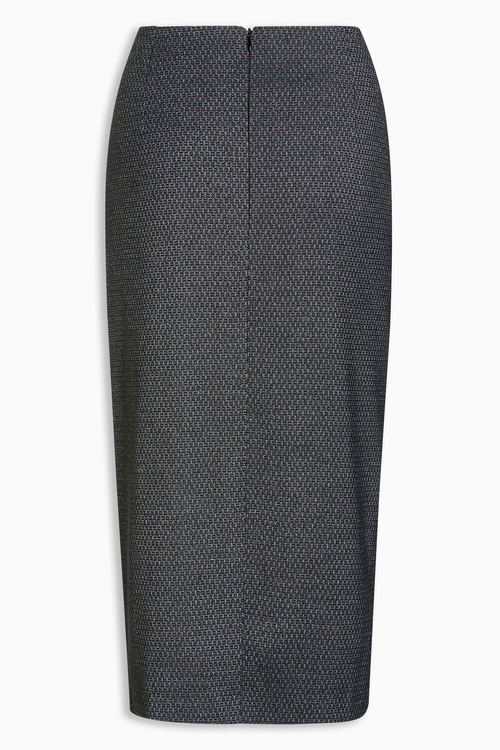 Next Charcoal Etched Pencil Skirt