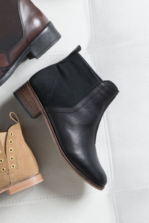 Wide Fit Rusty Ankle Boot