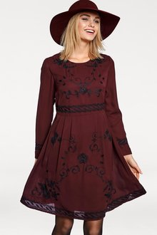 Heine Floral Embroidery Dress