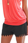 Urban Lace Trim Short