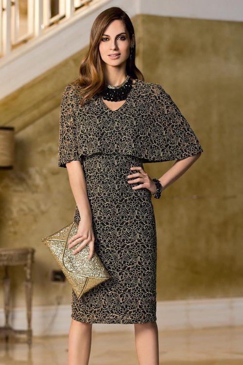 Together Cape Sleeve Dress