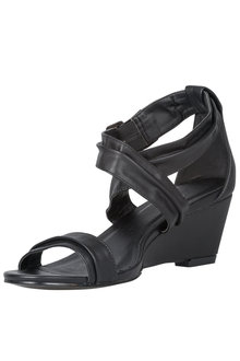 Plus Size - Wide Fit Jenna Wedge Sandal