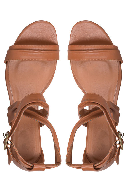Wide Fit Jenna Wedge Sandal