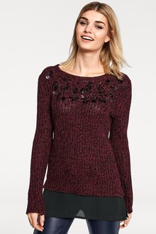 Heine Embroidered Pullover