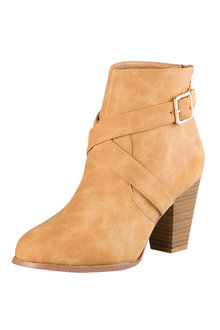 Plus Size - Wide Fit Casey Ankle Boot