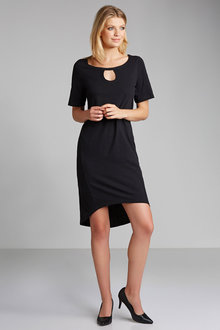 Emerge Keyhole Detail Dress