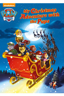 Personalised Adventure Book - Paw Patrol, My Christmas Adventure with the Pups