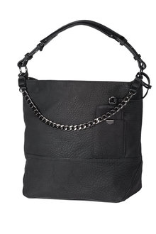 Next Black Chain Hobo Bag