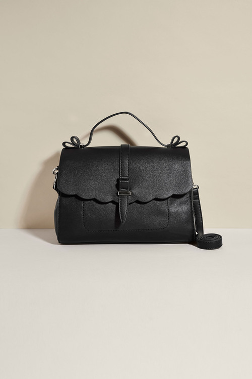 Next Scallop Edge Top Handle Bag