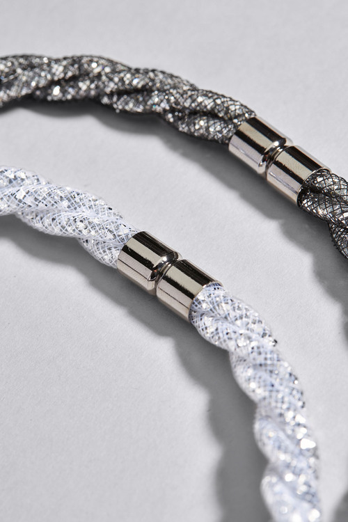 Next Mesh Necklace Two Pack