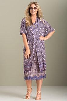 Plus Size - Sara Layer Slip Dress