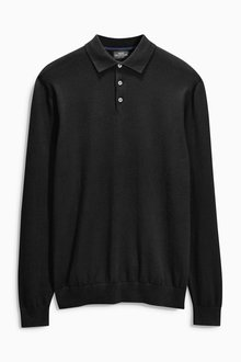 Next Long Sleeve Polo - 168330