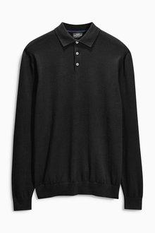 Next Long Sleeve Polo - 168330