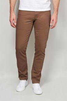 Next Tan Jeans With Stretch