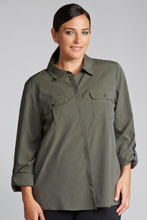 Plus Size - Sara Modal Shirt